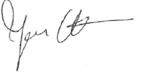 Unterschrift Johanna Uekermann